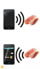 Fig 17. Basic NFC/RFID function: The reader activates the passive tag, then the tag broadcasts the stored digital information, which is converted into read- able text.